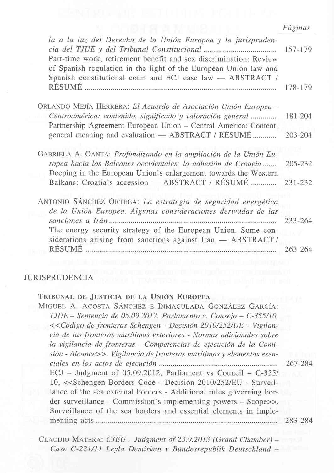 Revista de Derecho Comunitario Europeo 47, enero/abril 2014 ...
